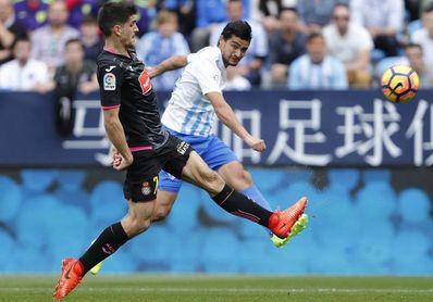 Málaga se la juega y Espanyol busca alejarse de abajo en duelo de necesitados