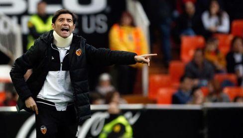 """Marcelino: """"Los ocho puntos de ventaja al Sevilla no me parecen definitivos"""""""