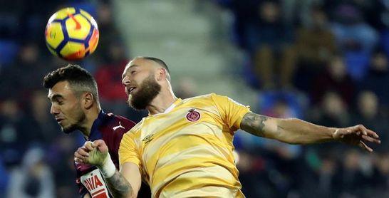 David Timor y Douglas Luiz, ausentes en el entrenamiento del Girona