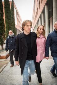 Luka Modric declaró en los juzgados por un supuesto delito fiscal en España