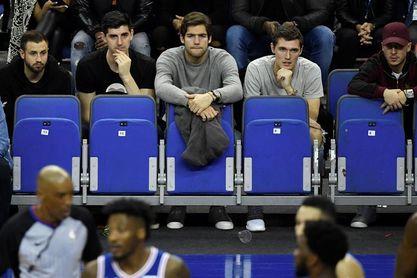 Morata, Courtois, y De Bruyne no se pierden el Celtics-Sixers en Londres