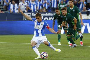 El Betis ganó en tres de las cuatro visitas del Leganés