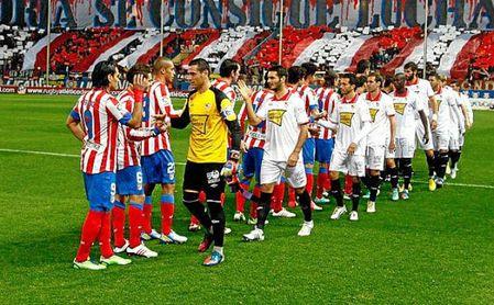 Sevilla y Atlético igualados en las ocho eliminatorias que les unió