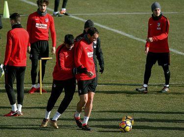 El Atlético viaja a Eibar sin Costa, Gabi, Savic, Filipe y Gaitán