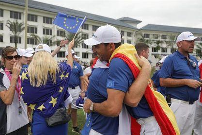 14-10. Europa arrasa en la última jornada y abraza la victoria final