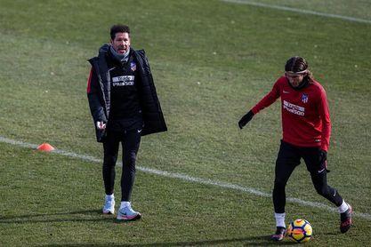 Simeone recupera a Filipe Luis