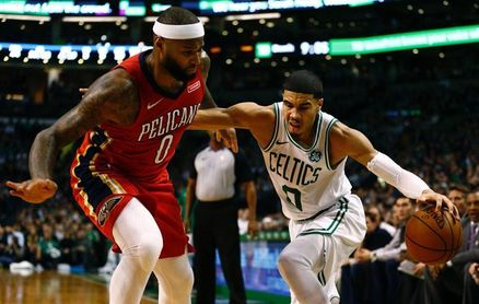 Pelicans con Davis sorprenden a Celtics; Magic a Timberwolves