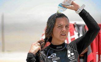 Cristina Gutiérrez, tres etapas sin apenas dormir y a base de agua y plátanos
