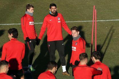 El Atlético vuelve al trabajo con Filipe y Vrsaljko en el gimnasio