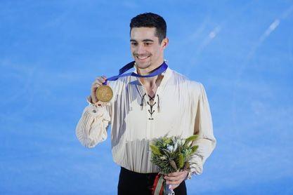 Rajoy felicita a Javier Fernández por su sexto europeo de patinaje
