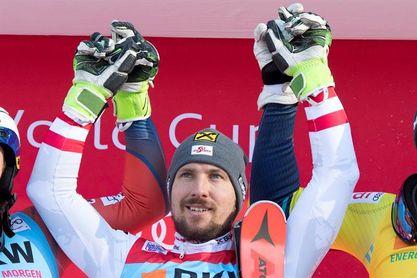Hirscher busca en Kitzbühel el sexto triunfo seguido en un eslalon esta campaña
