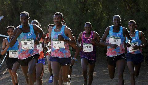 El ugandés Cheptegei gana al esprint a su compatriota Kiplimo en Itálica