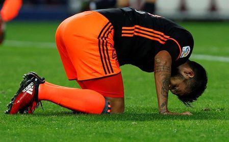 Garay al margen en el inicio de la semana de los choques ante Alavés y Madrid