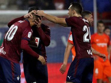 Segundo gol de Kike (Eibar) y primero de En-Nesyri (Málaga)