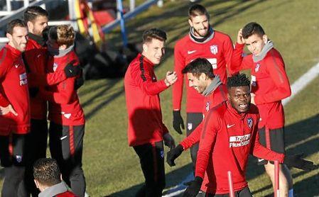Lista con notables ausencias del Atlético para medirse al Sevilla