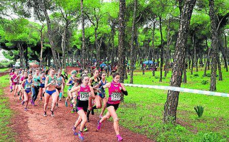 Participantes de la carrera femenina.