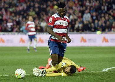 El Watford cede a Success al Málaga para lo que queda de temporada