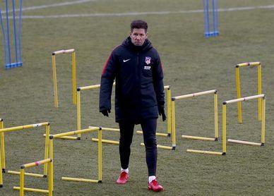 Simeone insiste en la presión y en el mismo once para recibir al Valencia