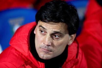 """Montella: """"Necesitamos reaccionar en la Liga para recuperar posiciones"""""""
