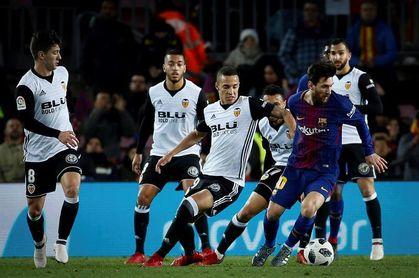 El Valencia remontó un 1-0 en diez de sus últimas doce eliminatorias coperas