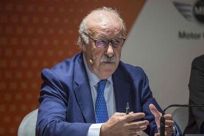 Vicente del Bosque será homenajeado en Río Tinto, cuna del fútbol en España