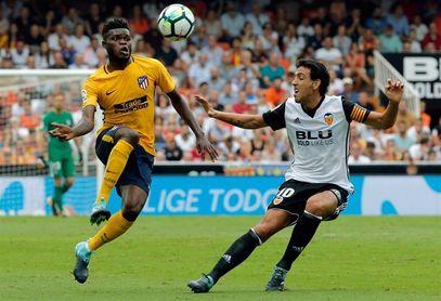 Atlético-Valencia, partido de ´4´ puntos por el podio