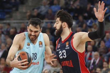 Baskonia y Barcelona miden sus fuerzas por tercera vez esta temporada