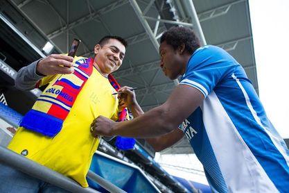 El colombiano Carlos ´La Roca´ Sánchez entra el lista para el derbi
