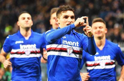 Al Sampdoria no le basta un gol de Lucas Torreira para ganar al Torino (1-1)