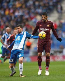 Espanyol y Barcelona empatan 0-0 al descanso