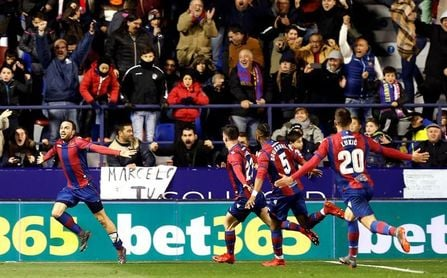El Levante puntúa por primera vez ante el Madrid en dos partidos en la misma campaña