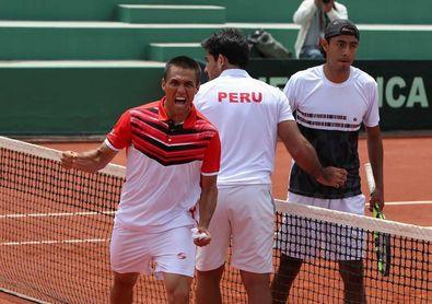 Perú supera a Bolivia por 0-3 y avanza a la siguiente ronda de la Copa Davis