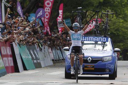 Sergio Luis Henao, del Sky, repite como campeón nacional de ruta de Colombia