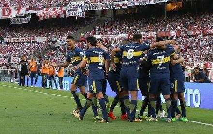 Boca empató con San Lorenzo pese a terminar con dos jugadores más