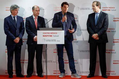 """Nadal dice que su lesión va """"por buen camino"""" y que espera estar en Acapulco"""