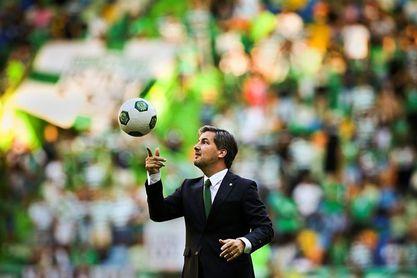 El presidente del Sporting luso pone su continuidad en manos de los socios