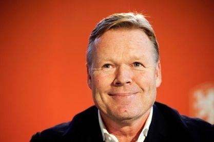Holanda presenta a Ronald Koeman como nuevo seleccionador de fútbol