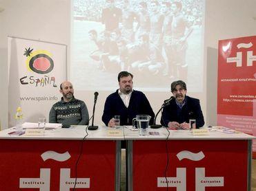 El Cervantes acoge fotos de Efe sobre la rivalidad futbolística hispano-rusa