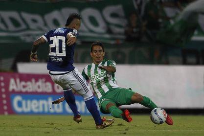 1-2. El paraguayo Ovelar da a Millonarios el primer título del año y ante Nacional