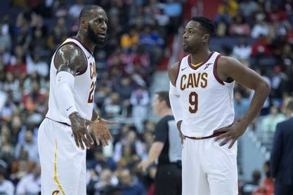 Los Cavaliers mandan a Wade a Miami y llegan Hood y Hill en un traspaso de tres equipos
