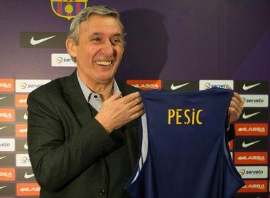 El RETAbet Bilbao busca dar la sorpresa ante un Barça ya con Pesic dirigiendo