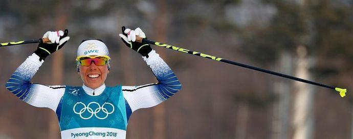 La sueca Kalla, primer oro en PyeongChang; la noruega Bjoergen engrosa su leyenda
