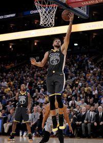 122-105. Thompson logra 25 puntos en la victoria de los Warriors