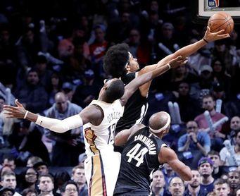 128-138. Davis logra doble-doble en el triunfo de los Pelicans