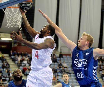 94-99. Neal lleva a Zaragoza a la victoria ante un Gipuzkoa Basket desnortado