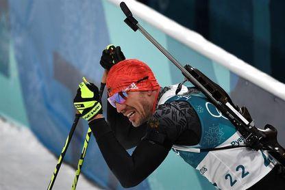 El alemán Arnd Peiffer gana el sprint de 10 kilómetros