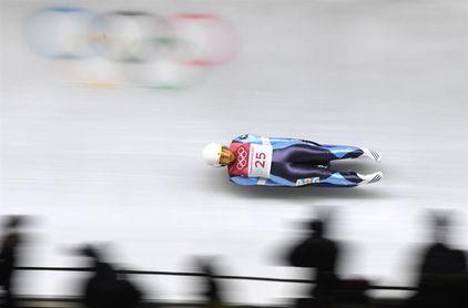 La argentina Verónica Ravenna hace su debut olímpico en luge