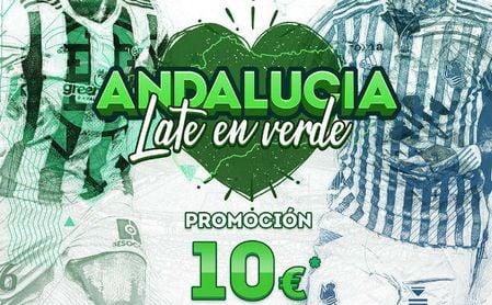 Promoción del Betis contra la Real por el día de Andalucía