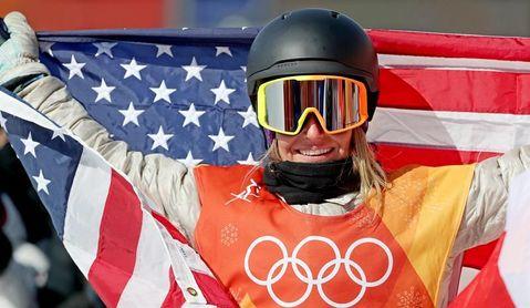 Jamie Anderson da a Estados Unidos otro oro en slopestyle
