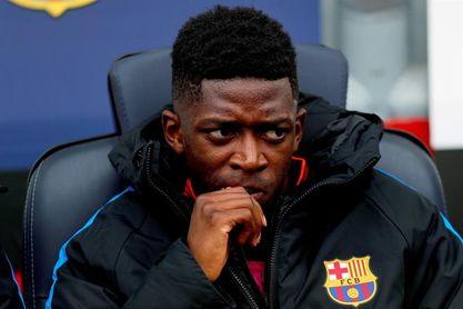 Ousmane Dembélé, baja en el entrenamiento por molestias gástricas